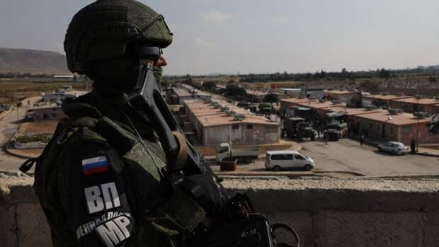 Минобороны России отреагировало на инцидент с военными США в Сирии