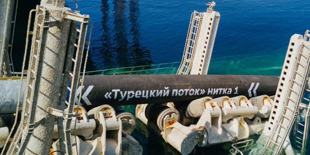 Газопровод-конкурент «Турецкого потока» начнет поставлять газ 30 ноября