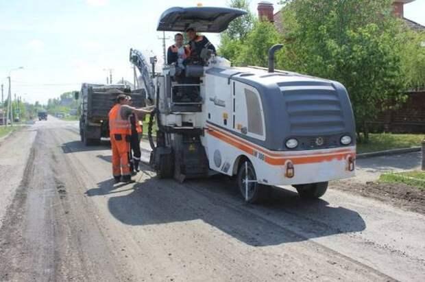 В барнаульских поселках отремонтируют несколько участков дорог