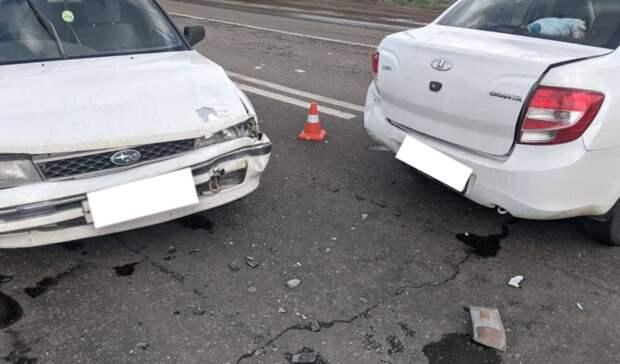 В Оренбурге в ДТП пострадали пятилетний ребенок и двое взрослых