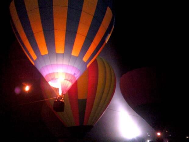 В Крыму прошел фестиваль воздушных шаров к 75-летию Победы