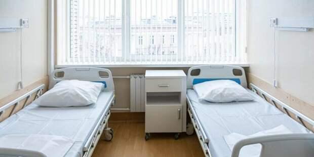 Собянин открыл новую инфекционную больницу в Вороновском / Фото: mos.ru