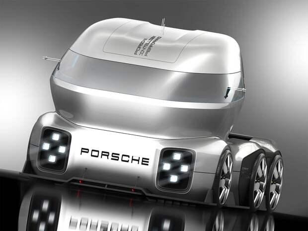 Дизайнер показал, какими будут Porsche будущего. Выглядит круто!