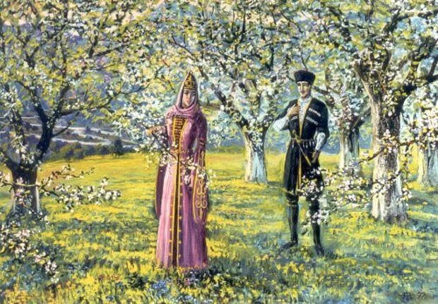 О отношении черкесов к деревьям