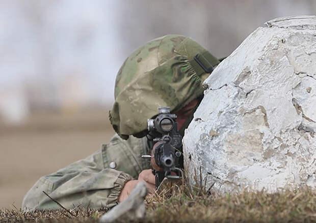 Разведчики в Сибири во время учения обнаружили и уничтожили командный пункт противника