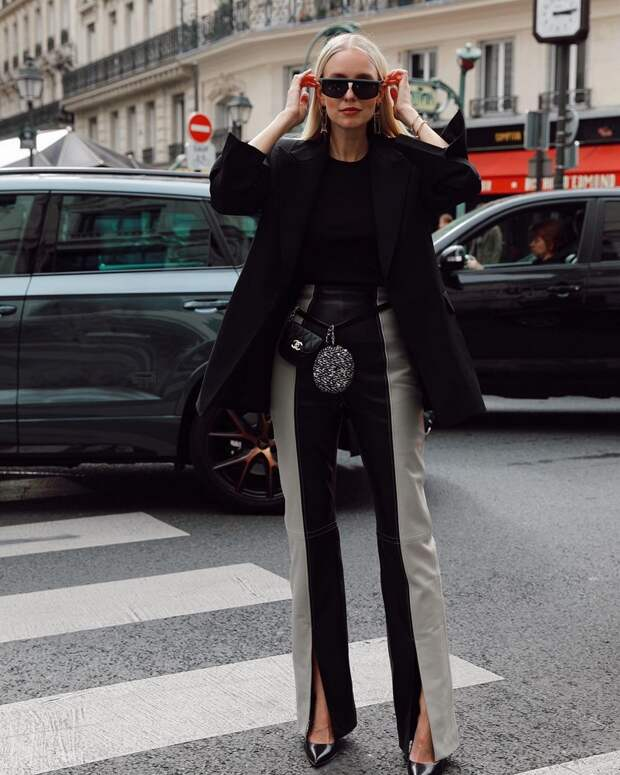 Кожаные брюки – главный тренд весны 2021: модные новинки, интересные модели, стильные образы