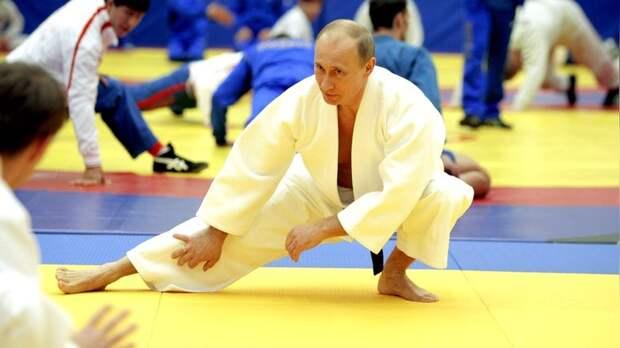 Das Erste: У «фаната дзюдо» Путина хватит сил уложить Абэ на татами