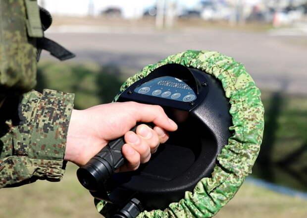 Военнослужащие дальней авиации отработали задачи по разминированию района в ходе контрольной проверки