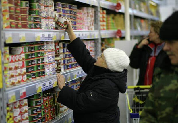 В России признали невозможность отката назад цен на продукты