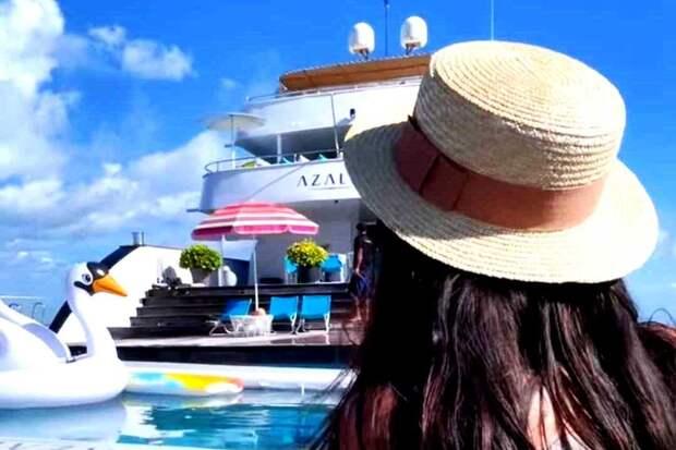 Джиган и Самойлова сняли на Мальдивах яхту за 9 млн рублей