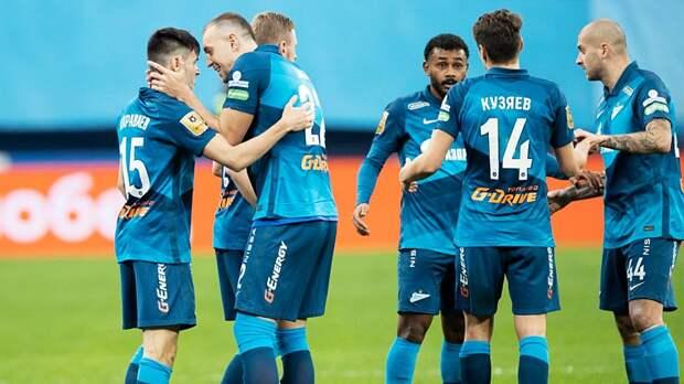 «Зенит» разгромил «Ахмат» в 22-м туре РПЛ. Отрыв от идущего 2-м ЦСКА — 5 очков
