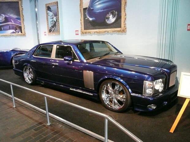 Берегите глаза: Совершенно нелепый Bentley одного из ведущих Топ Гира