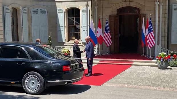 Путин прибыл на виллу Ла Гранж, где пройдет встреча с Байденом