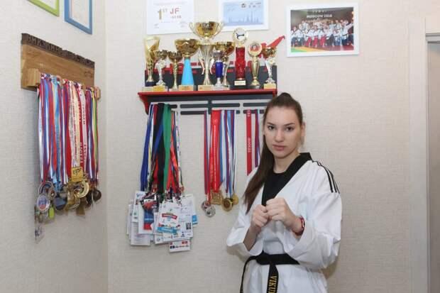Спортсменка из Кузьминок стала чемпионкой Москвы по тхэквондо