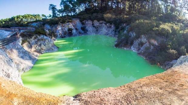 Настоящее природное чудо - Ванна Дьявола