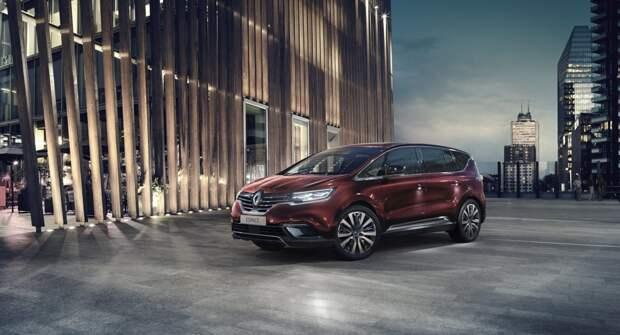 Концерн Renault может завершить выпуск компактвэнов Scenic и Espace