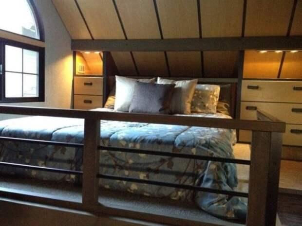 Можно ли комфортно жить в доме площадью 18 кв.м