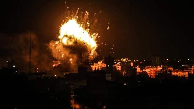 Почти 350 палестинцев пострадали в ходе конфликта с Израилем за сутки