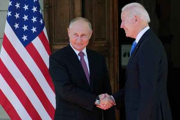 Путин и Байден начали переговоры