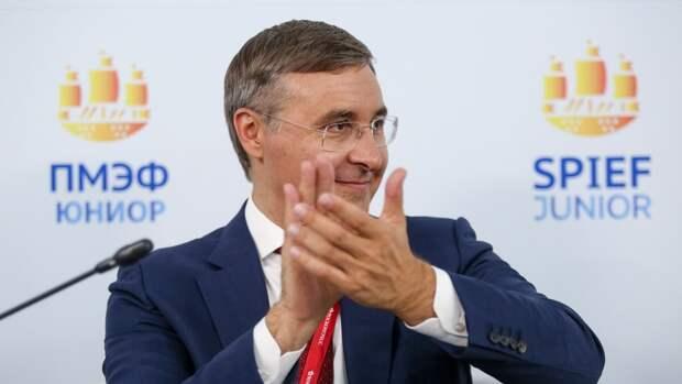 Фальков оценил итоги ПМЭФ-2021 для Минобрнауки России