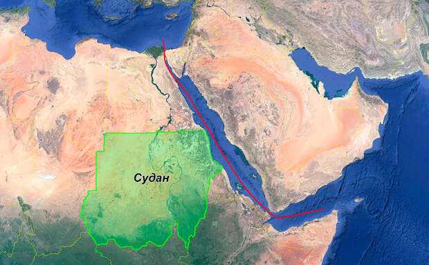 Россия сможет влиять на маршрут через Суэцкий канал – главный морской путь из Европы в Азию