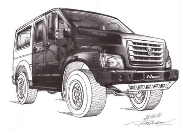 Русский немец обвинил ГАЗ в краже дизайна Вепрей
