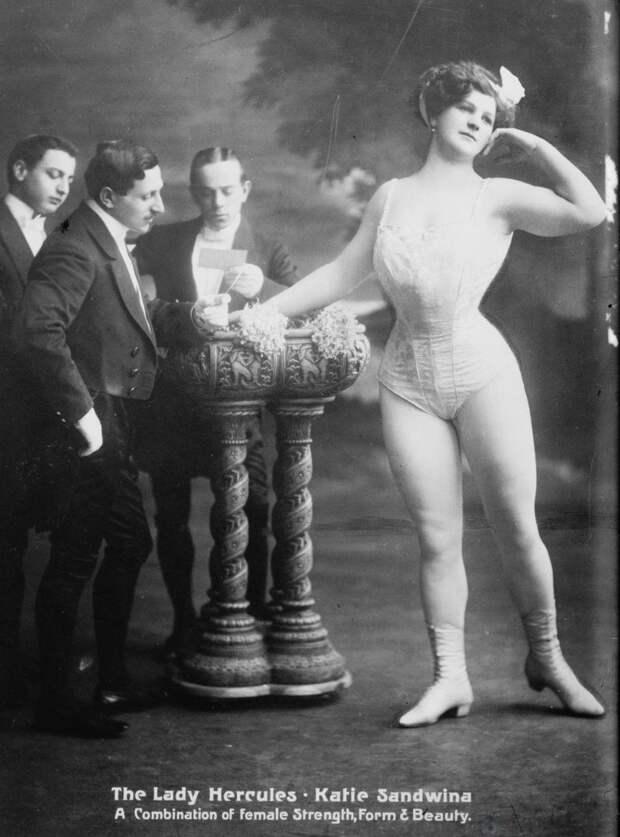 Великая Сандвина, цирковая силачка и ресторатор