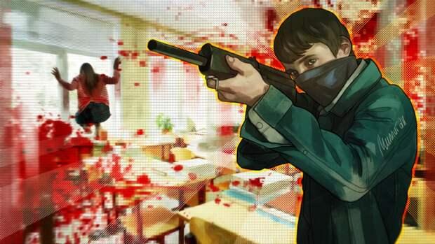 Казанский стрелок не прятал оружие и здоровался с прохожими по пути в школу