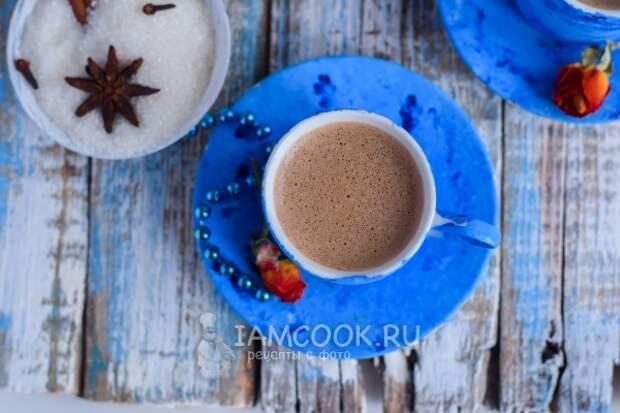 Фото кофе с халвой