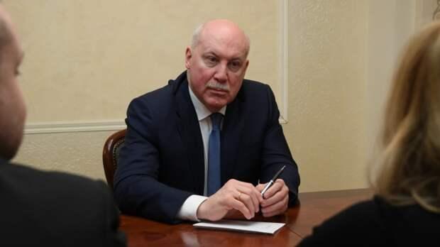 Мезенцев подверг критике призыв G7 по новым выборам в Белоруссии