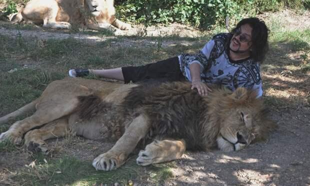 Львенка Киркорова загрызли в «Тайгане»