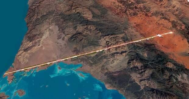The Line. Саудовская Аравия построит трехуровневый город без дорог и машин