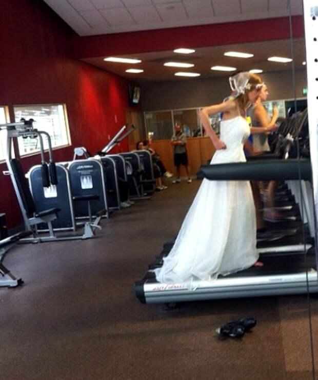 Похудеть к свадьбе.