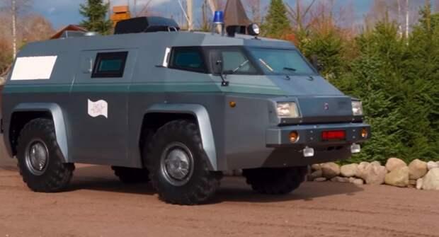 ГАЗ-3934 «Сиам» — история инкассаторского автомобиля, который не использовался по назначению