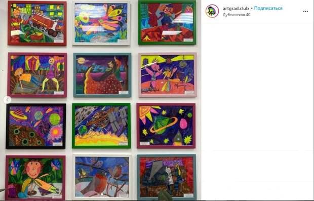 Фото дня: в МФЦ «Бескудниково» обновилась выставка детских работ