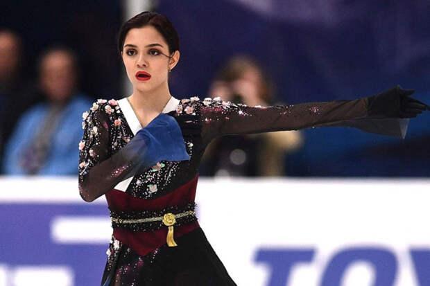 """Андреева: """"Мне нравится фигуристка Медведева. Она достойно себя ведёт"""""""