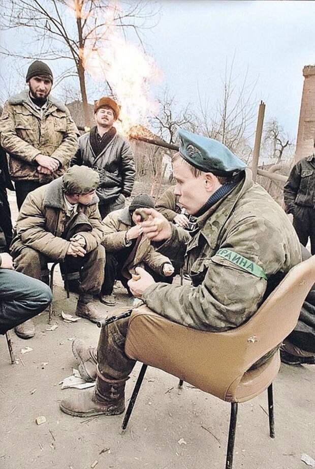 Украинский доброволец на стороне ЧРИ. Первая Чеченская.