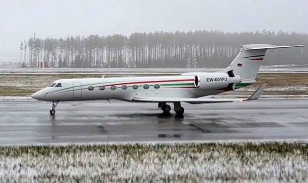 Почему самолет Лукашенко уже неделю находится в Швейцарии