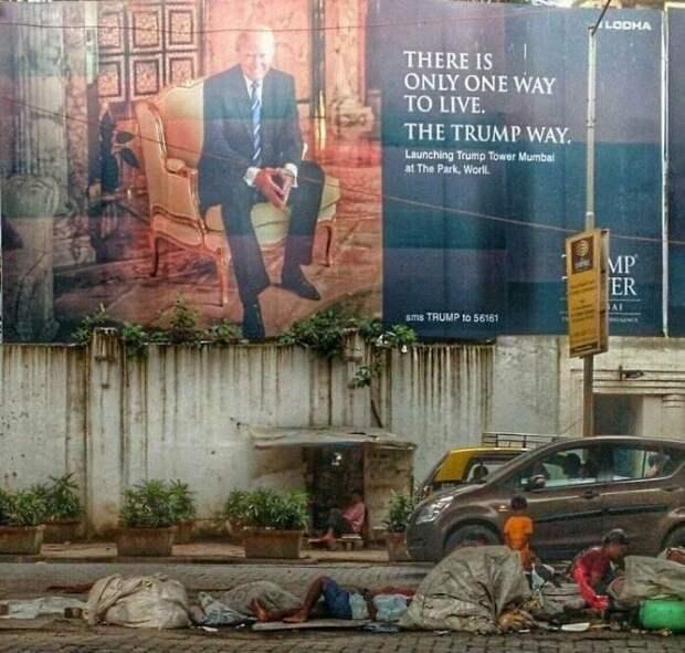 Участники группы делятся фото, которые показывают, что жизнь в больших городах стала удручающей