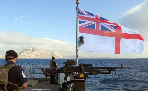 Великобритания отправляет военные корабли к берегам Франции