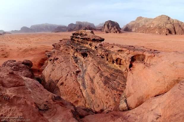 Пески времён: Лунная долина в Иордании