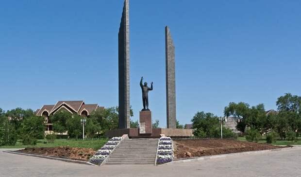 Озвучен размер ущерба памятнику Юрия Гагарина в Оренбурге