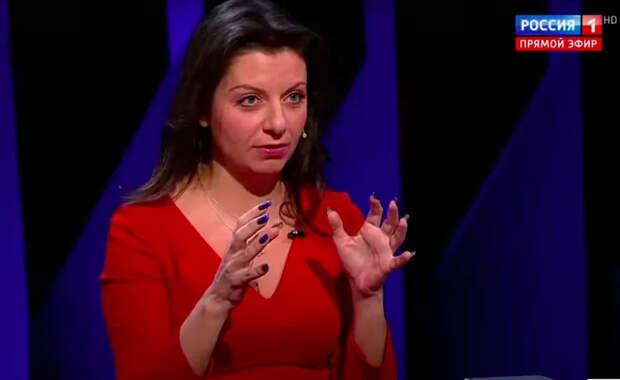 Объясняю на пальцах: мудрые слова Маргариты Симоньян о войне России с Украиной