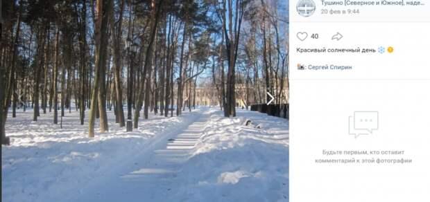 Фото дня: заметает зима