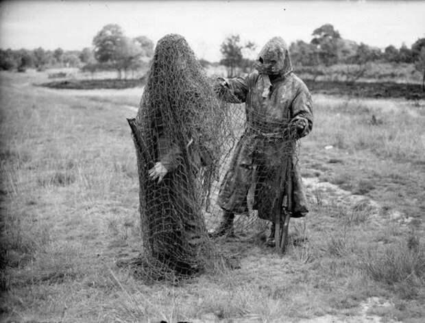 Маскировочный костюм «гилли»: с охоты на войну и обратно