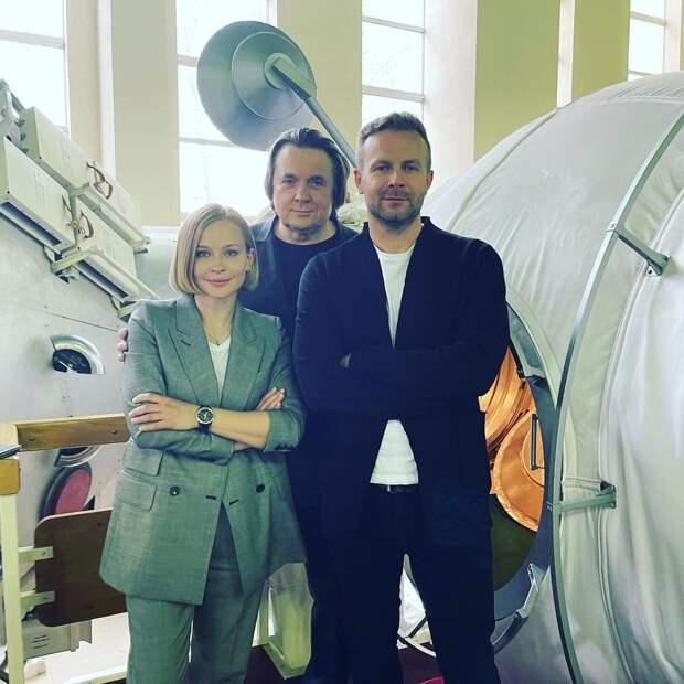 Юлия Пересильд прокомментировала свой полёт в космос