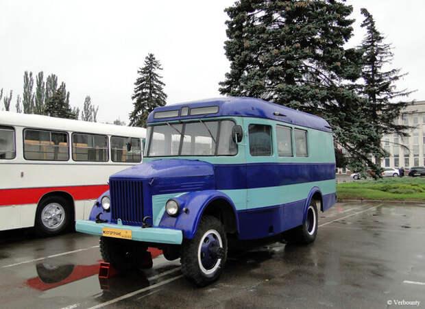 Восстановленный КаВЗ-663