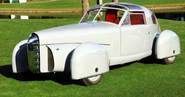 1948 Tasco авто, автодизайн, концепт