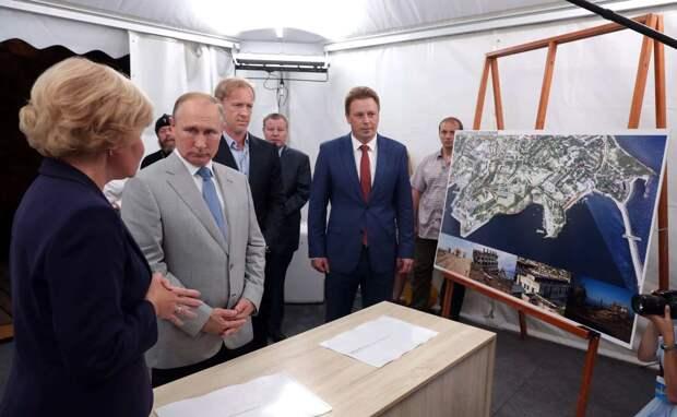 Украина угрожает архитекторам из Австрии за участие в личном проекте Путина