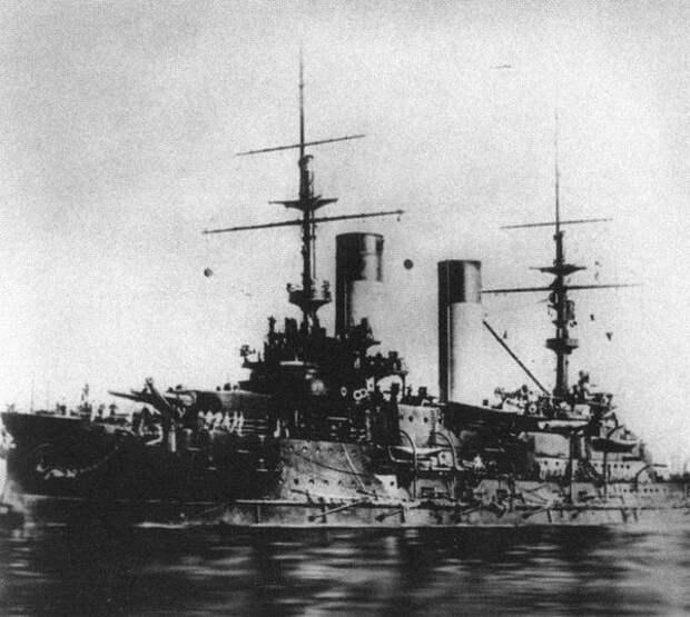 Эскадренный броненосец «Орёл», на котором служил Алексей Новиков